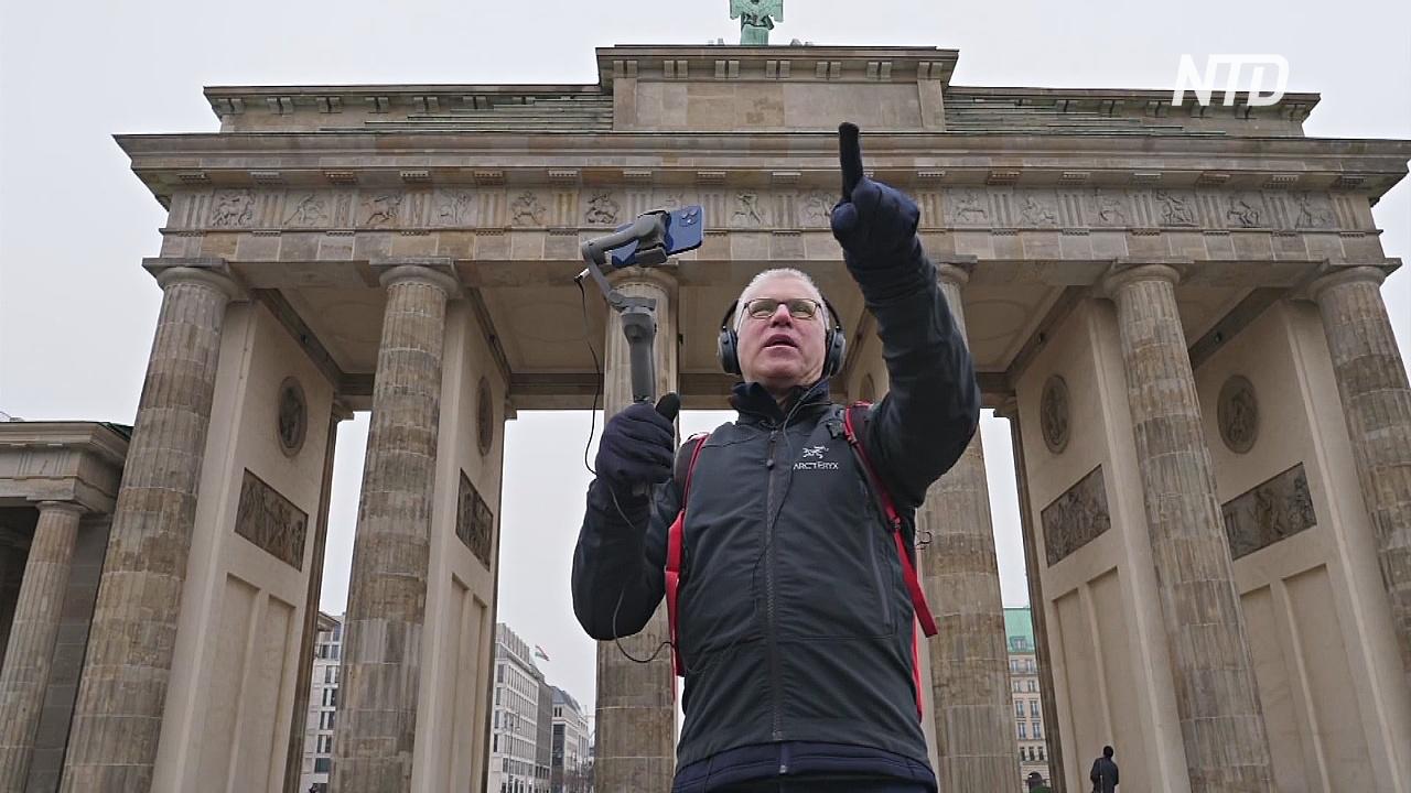 Житель Берлина проводит онлайн-экскурсии по улицам