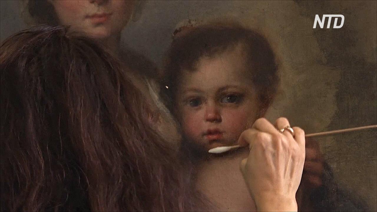 Римский музей воспользовался карантином и реставрирует картины