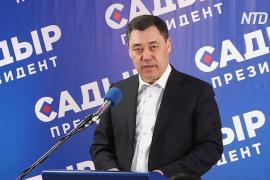 Садыр Жапаров одержал уверенную победу на выборах президента Кыргызстана