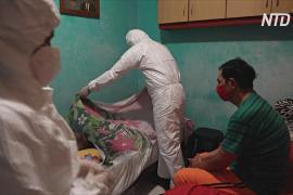 Всплеск смертности от COVID в Бразилии: люди умирают дома