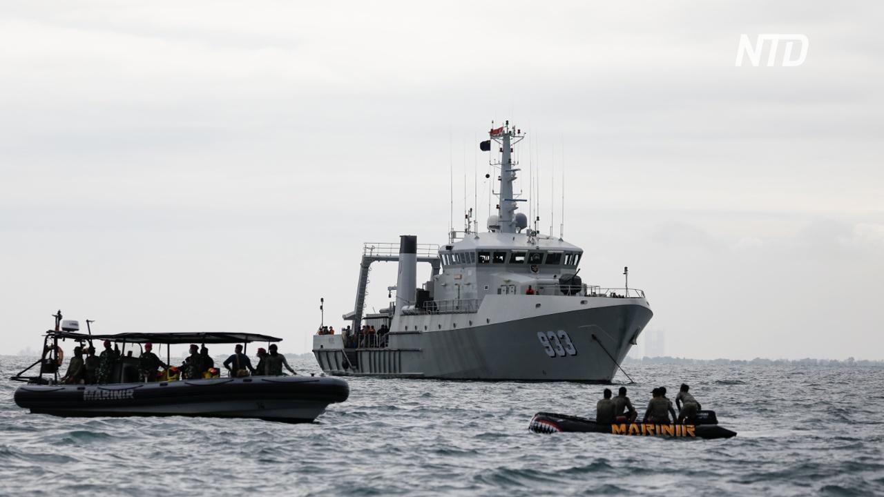 В Индонезии активизируют поиски второго «чёрного ящика» разбившегося самолёта Sriwijaya Air