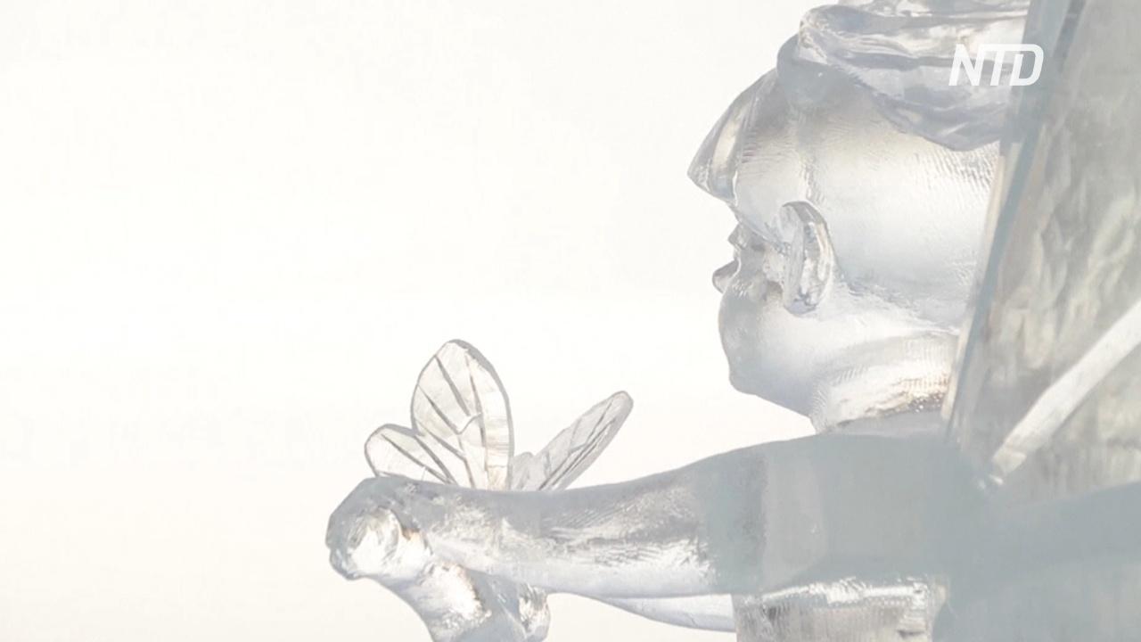 «Ускользающая красота»: в Перми выбрали победителей конкурса ледяных скульптур