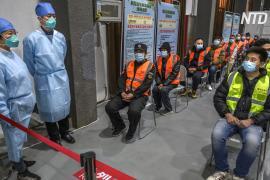 В Китае растёт число заболевших COVID-19