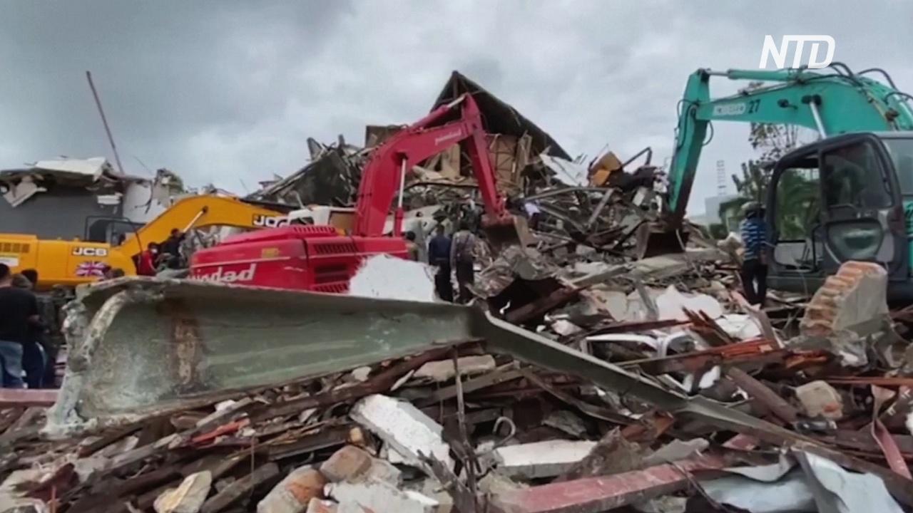 Растёт число жертв землетрясения на Сулавеси