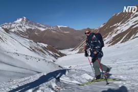 Курорты закрыты: грузинские лыжники переключаются на немаркированные трассы