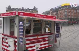 Знаменитым датским фуд-тракам с хот-догами исполнилось 100 лет