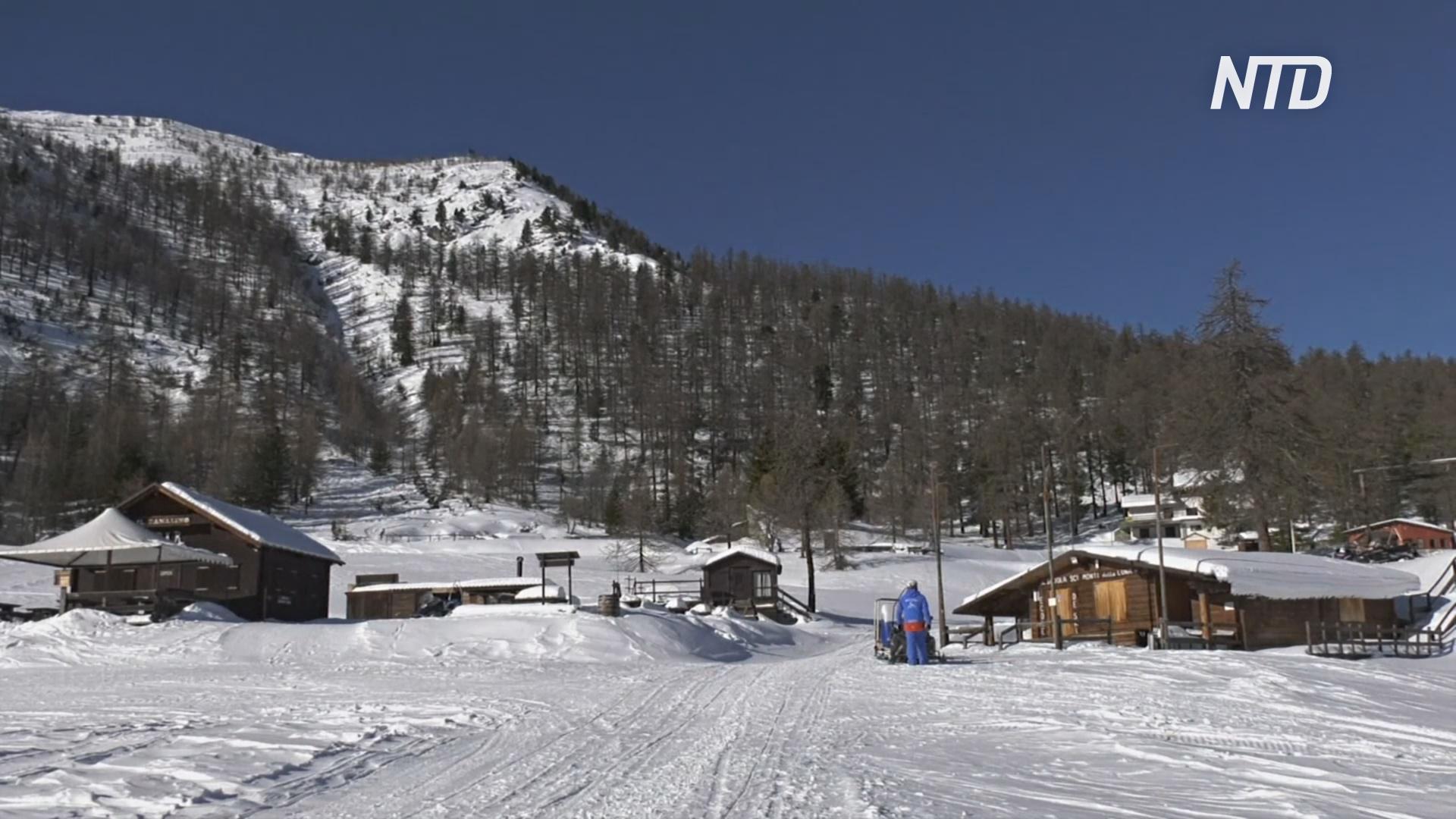 Горнолыжные курорты Италии закрыты, а люди несут большие убытки