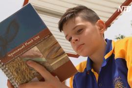 В Австралии мальчик посадил сад и получил премию за человечность