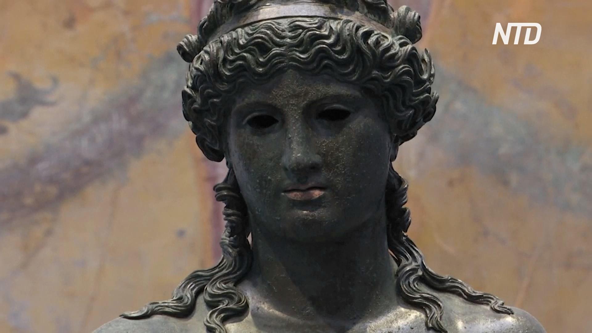 Сокровища Помпеев выставили во вновь открывшемся музее «Антиквариум»
