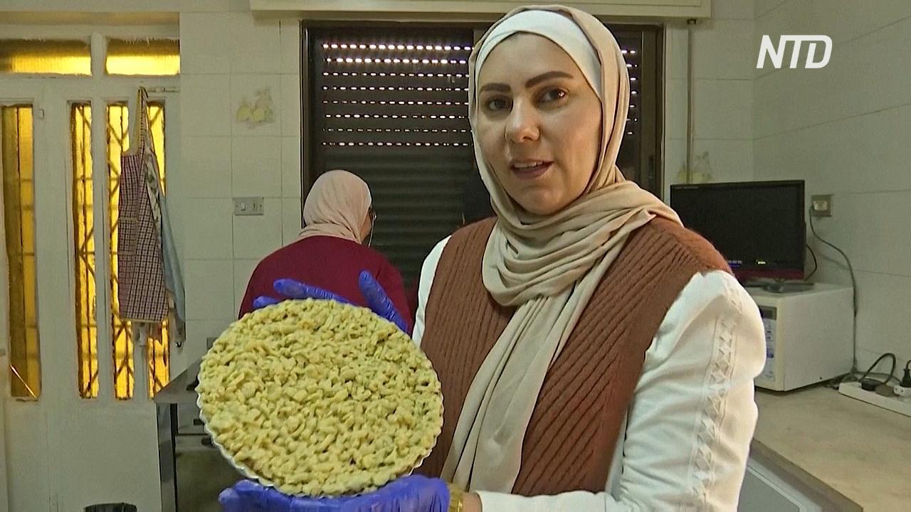 Карантинный бизнес: иорданка печёт с мамой пироги и доставляет их клиентам