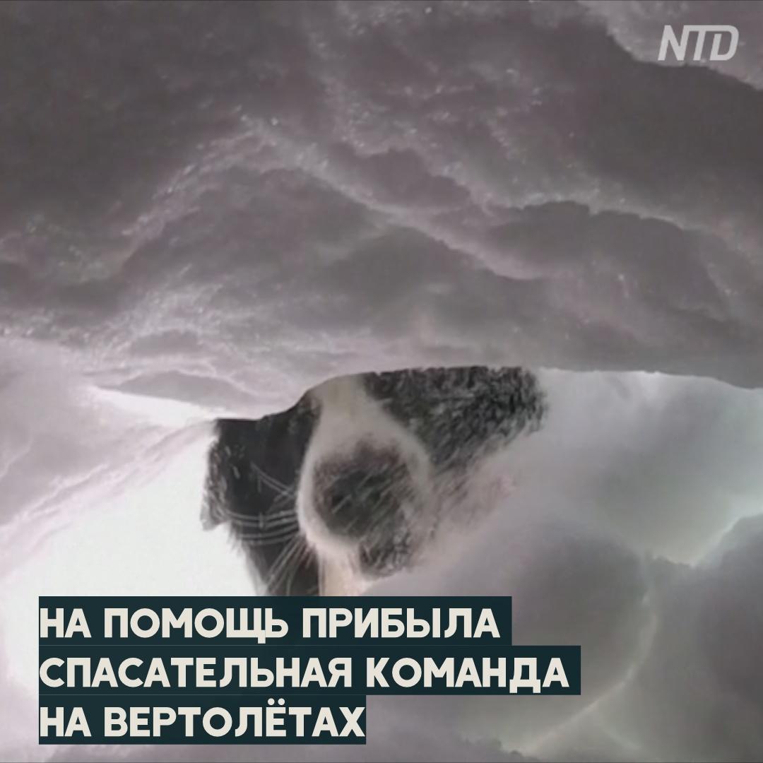 50 минут под лавиной: итальянец вспоминает своё спасение