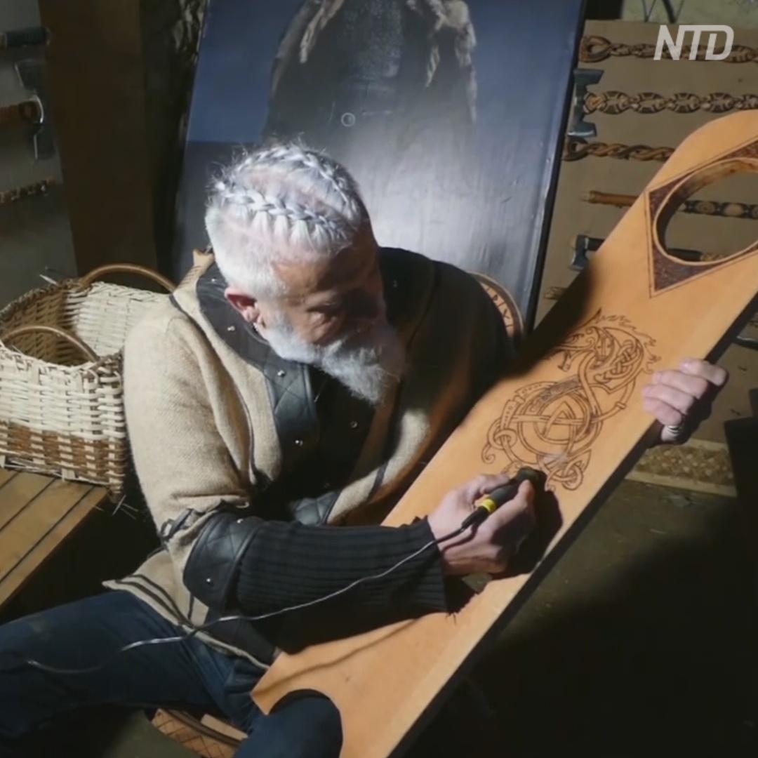 Босниец перевоплотился в викинга из-за любви к скандинавским сагам