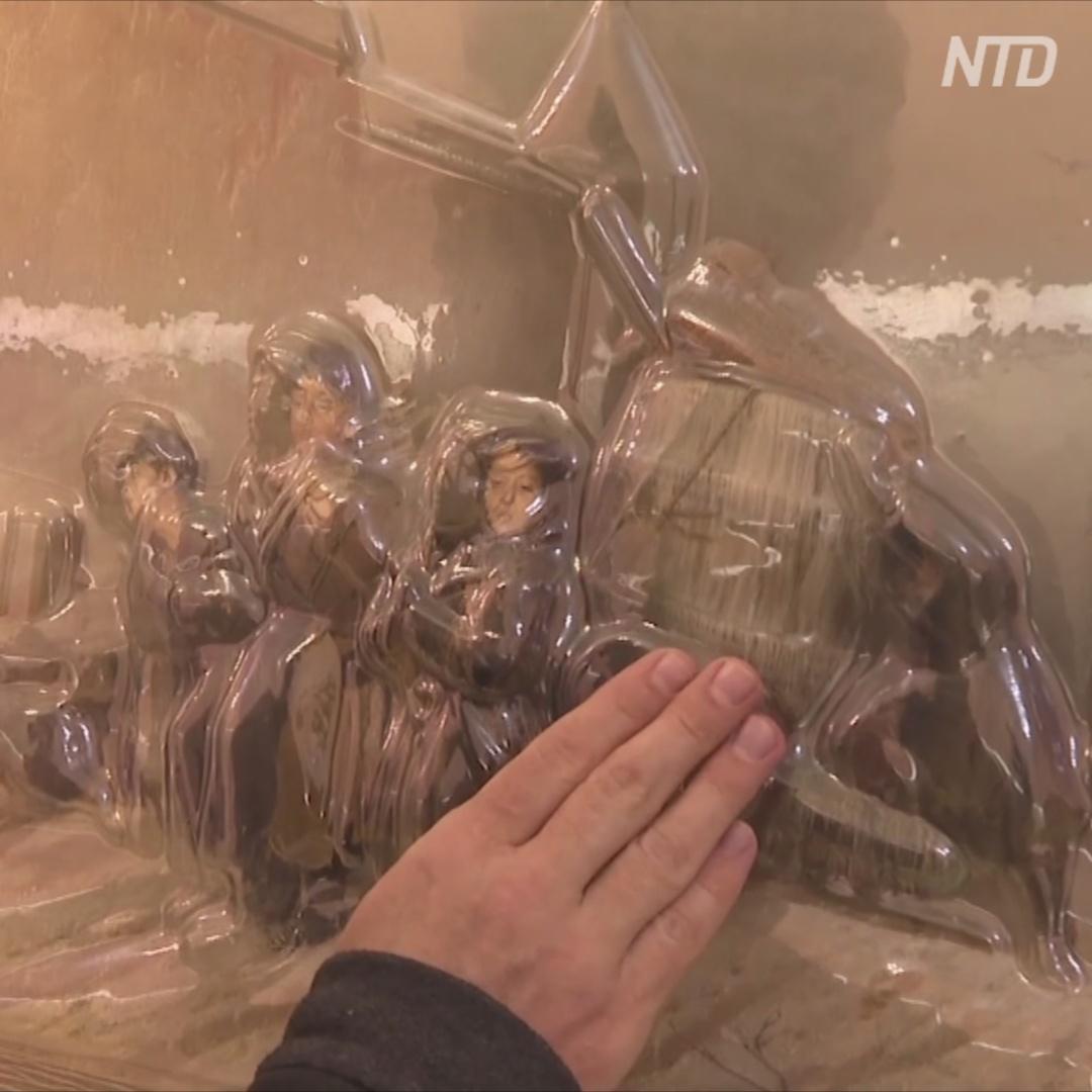 В Твери работает выставка объёмных картин для незрячих