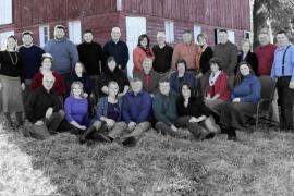 Семейная пара, которая вместе 61 год, приветствует сотого потомка