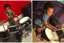 Видео с двухлетним барабанщиком стало вирусным