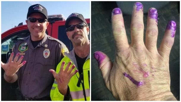 Зачем пожарные попросили накрасить им ногти