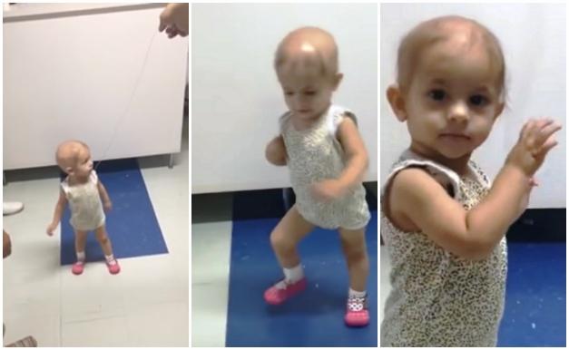 Видео танца малышки под укулеле стало вирусным