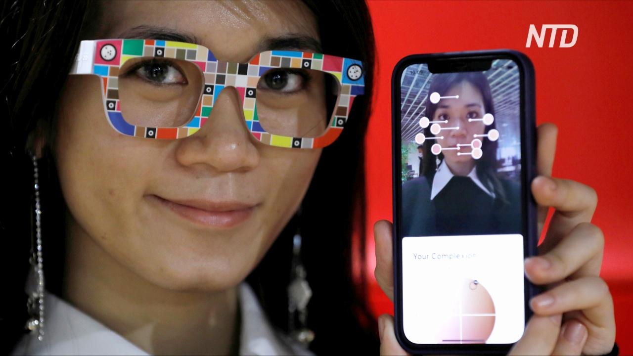 Японский ритейлер Zozo выпустил очки, определяющие тон кожи лица