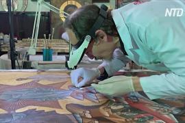 Реставратор переехал из Греции в Турцию, чтобы спасать фрески христианских церквей