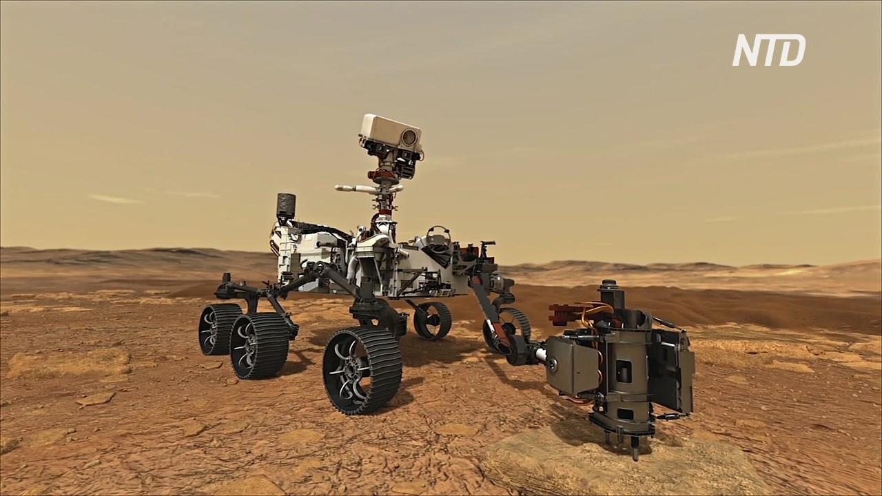 Новый аппарат НАСА будет искать жизнь на дне бывшего озера Марса