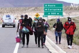 Чили грозит гуманитарный кризис из-за наплыва мигрантов