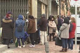 Число безработных в Испании достигло почти 4 млн
