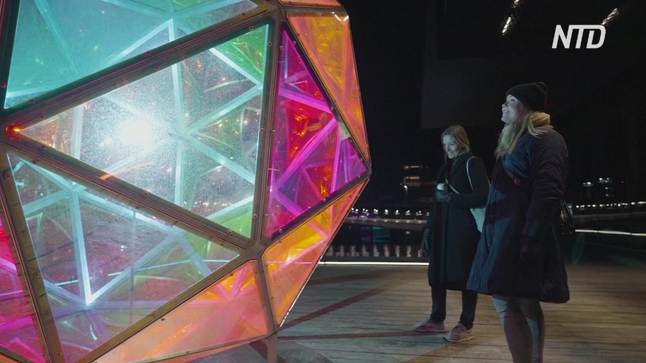 В Копенгагене в условиях карантинных мер проходит фестиваль света