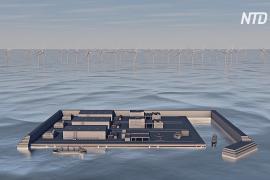 Дания построит искусственный остров для распределения энергии с ветряных ферм