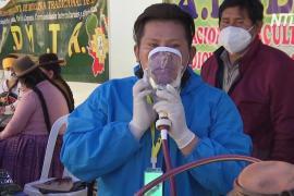 Боливийцы надеются, что травяные настои защитят их от коронавируса