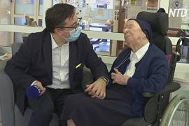 Старейший человек Европы переболел COVID-19