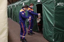 Французских бездомных спасают от холодов