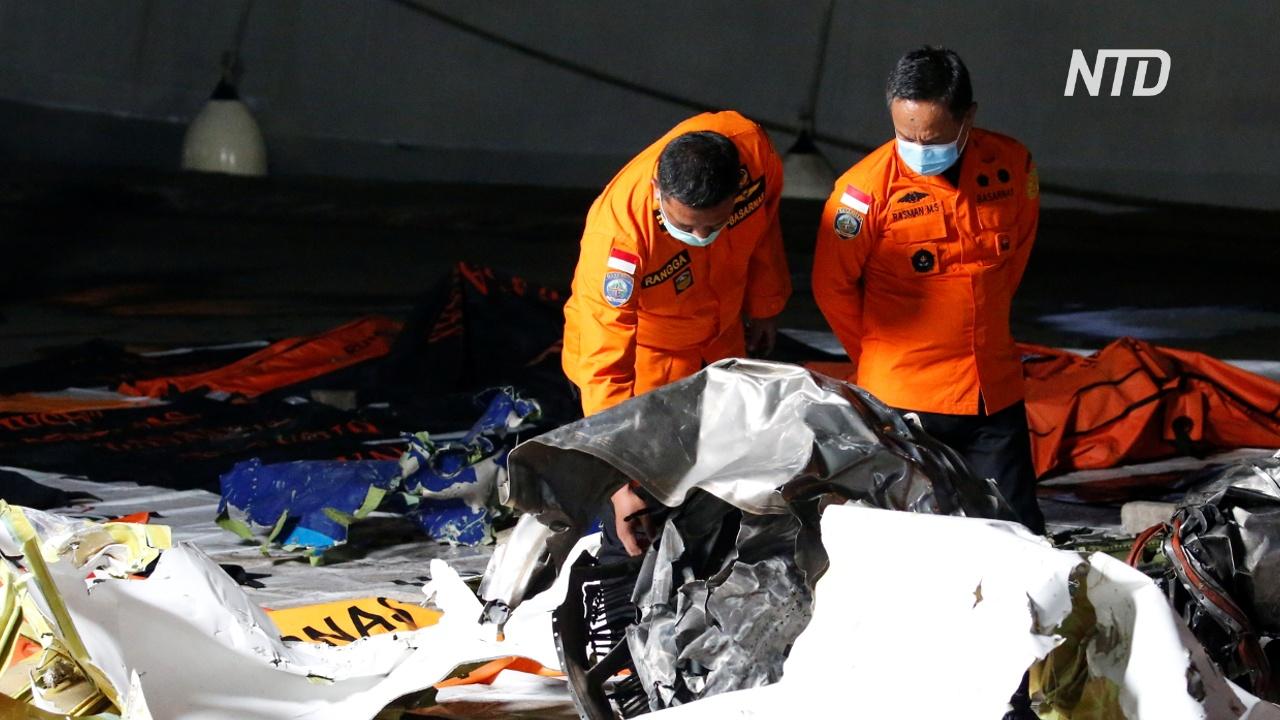 Эксперты: у Boeing, разбившегося в Индонезии, некорректно работал автомат тяги