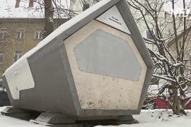 «Гнёзда» для бездомных: в Германии испытывают уличные спальные капсулы