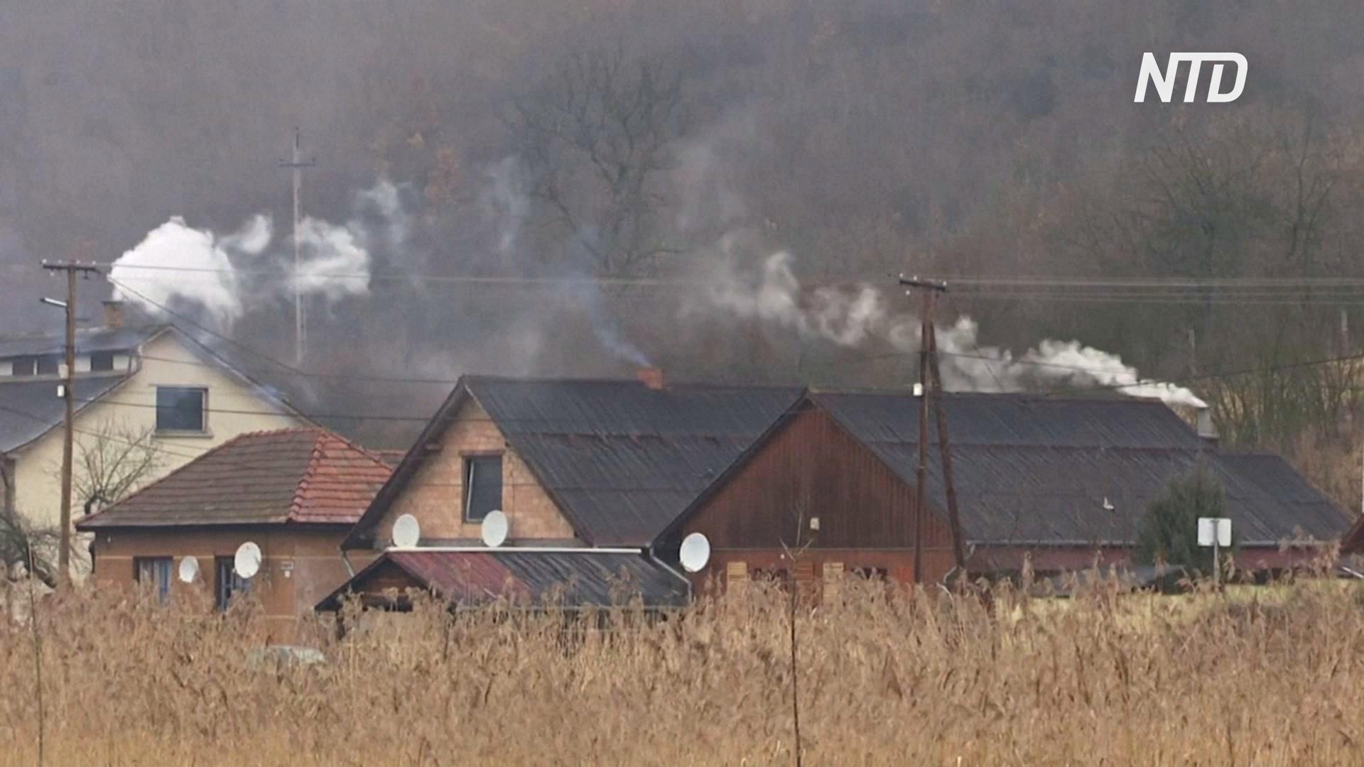 Венгры сжигают мусор, чтобы отапливать дома