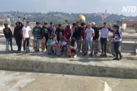 Иерусалимские подростки превратили в скейт-парк крыши Старого города
