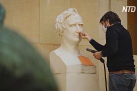 Лувр воспользовался карантином, чтобы почистить и восстановить картины и галереи