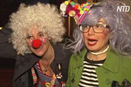 Карнавал на дом: житель Германии не сдаётся «локдауну»