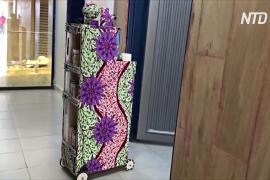 Нигерийские студенты создали робота, который поможет лечить пациентов с COVID