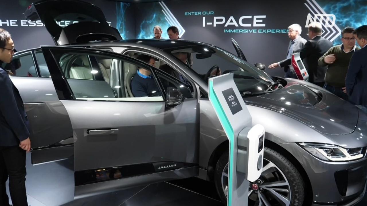 Автомобили Jaguar станут полностью электрическими к 2025 году