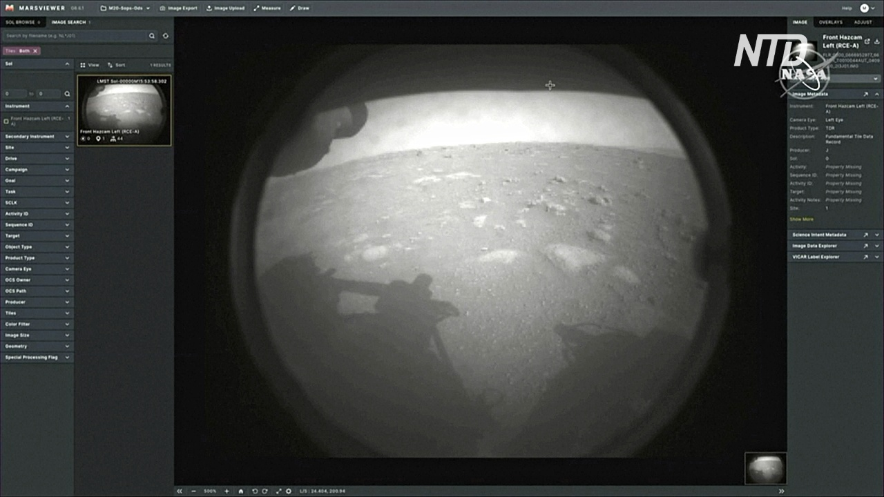 «Я в безопасности на Марсе»: на Красную планету села «Настойчивость»