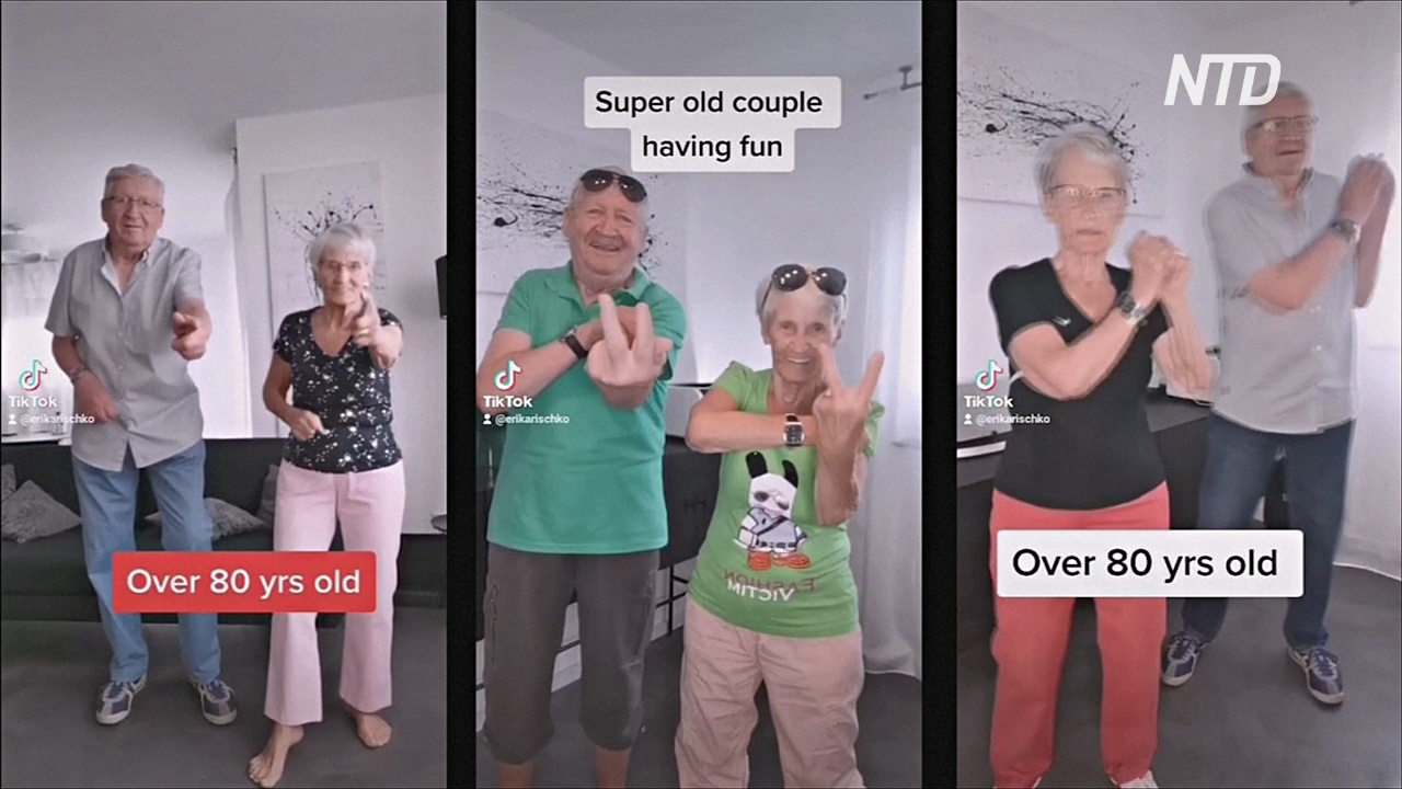 81-летняя фитнес-бабушка стала звездой TikTok