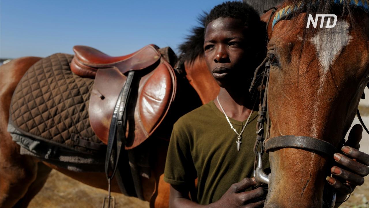 19-летний сенегальский жокей мечтает о всемирной славе