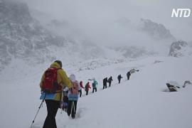 Пандемия подтолкнула казахстанцев к восхождениям на Тянь-Шань