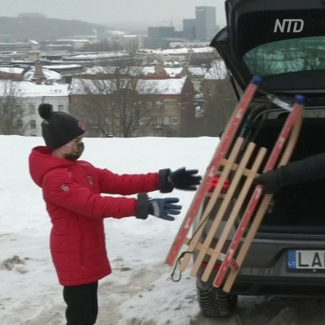 Сани в придачу: в Литве автомобили сдают в прокат с довеском