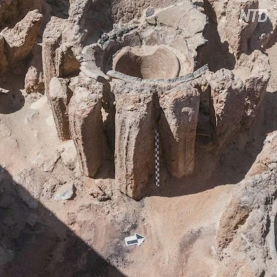 Древнюю пивоварню откопали в Египте
