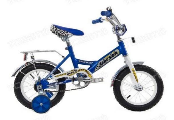 Велосипед Larsen kids 12 16,12 Синий