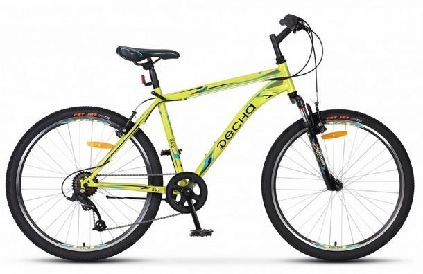 Велосипед STELS Десна-2612 V 26 V010хLU090678хLU077493 х18 Жёлтый 2018