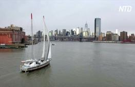 Французская компания доставляет грузы из США на парусных судах