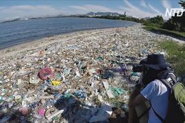 Бразильский эколог призывает спасти пляжи Рио-де-Жанейро от мусора