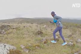 Кенийские марафонцы тестируют первую отечественную обувь для бега на длинные дистанции
